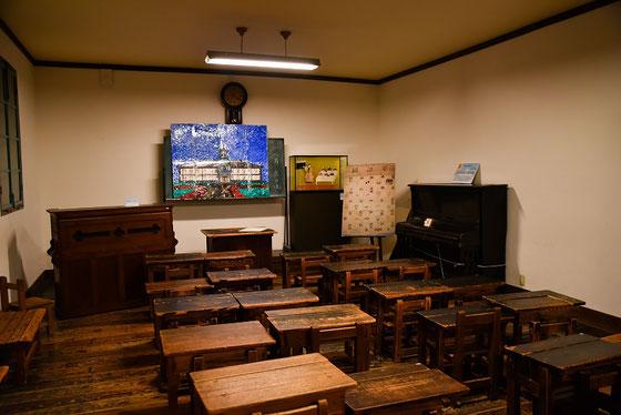 復元された教室