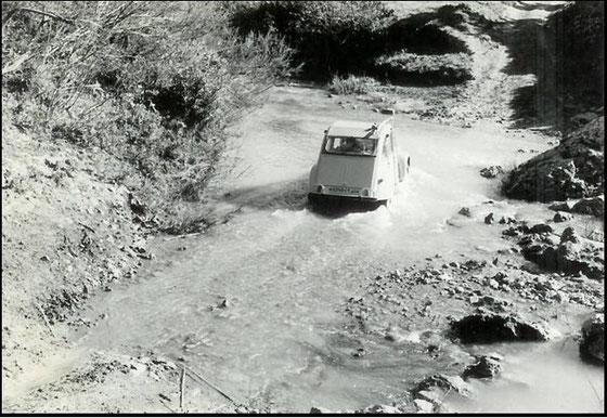 Traversée de la rivière Camérata