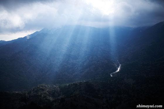 白谷雲水峡・太鼓岩 屋久島も冬景色へ