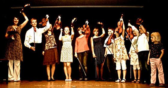Schülervorspiel an der Musikschule Petershagen