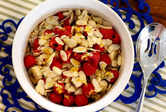 Love recipes for the oven? Try this sweet Almond Raspberry Banana Baked Rice. It's a cross between a casserole, a side dish and a breakfast.