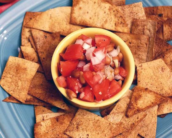 Flatout Chips Amp Salsa Amy Gorin Ms Rdn