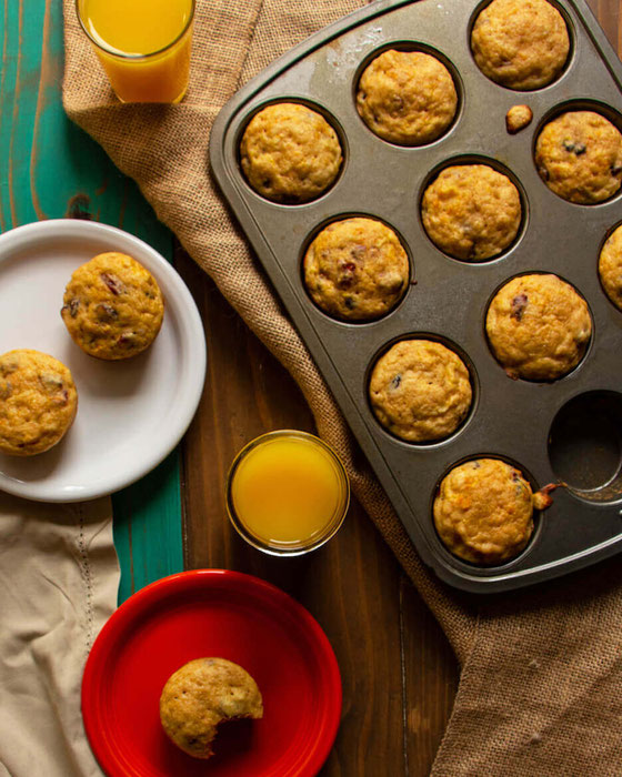 Start your mornings off with orange juice muffins! This easy recipe is perfect for kids, breakfast, brunch, and even dessert. Cheers to a tasty way to celebrate National Orange Juice Day! #ad #NationalOJDay #FLOJ #muffinrecipe #breakfastidea