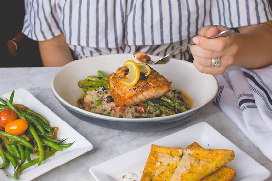 Here are the top tips for celebrating Healthy Aging Month + 30 heart-healthy recipes that will help you feel and look younger longer! Eating healthy may be your fountain of youth! #sponsored @AlwaysOmega3s #amyseatlist #omega3s #fattyfish #agegracefullyHe