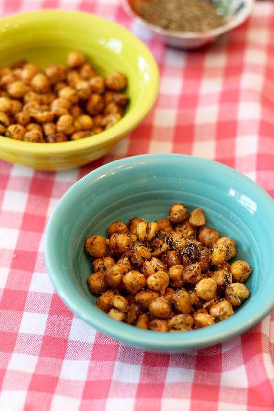 Spiced Roasted Chickpeas 5 Ways