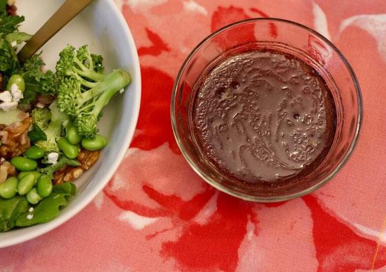 Grape Vinaigrette Salad Dressing