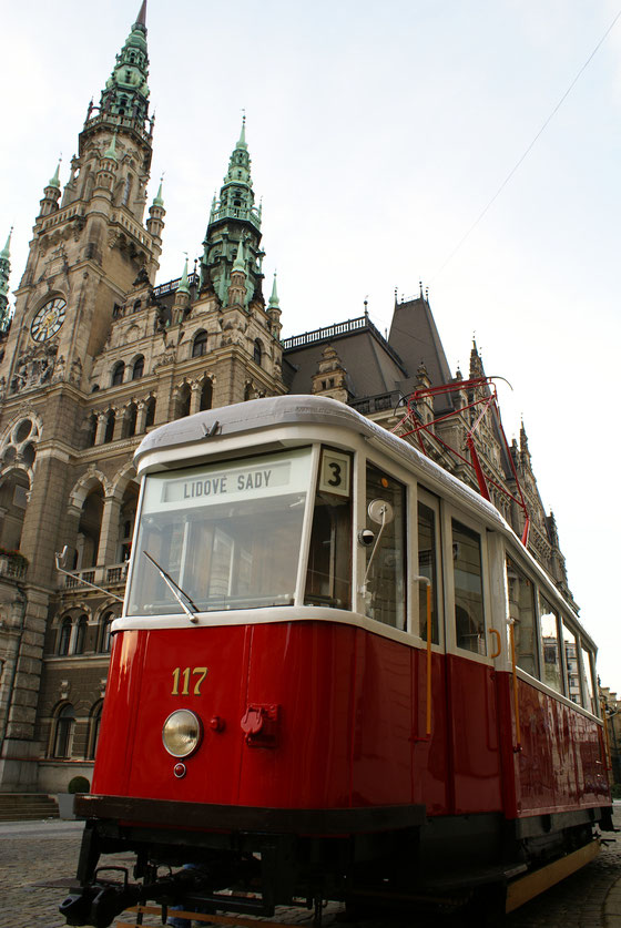 PRAGUE - OLD PUBLIC TRANSPORTATION