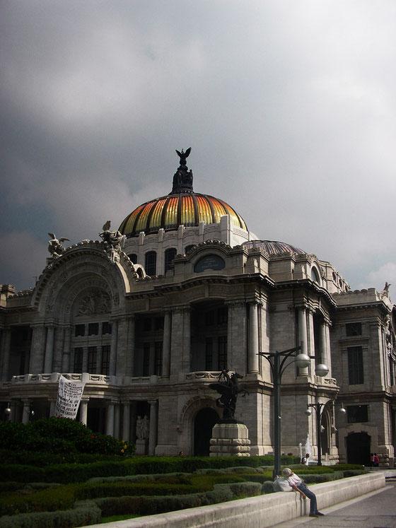MEXICO - CIUDAD DE MEXICO - PALACIO DE BELLAS ARTES