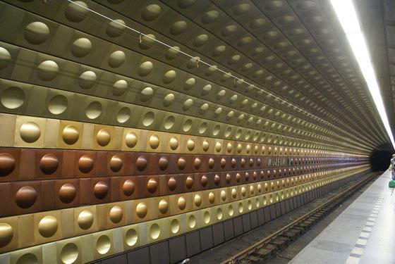 PRAGUE - METRO STATION