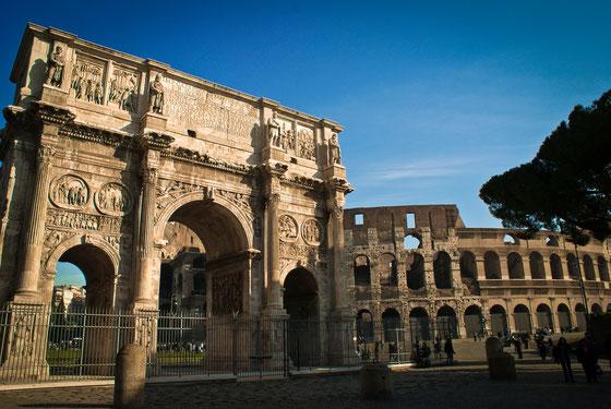 ROME - ARCO DI COSTANTINO & COLOSSEO