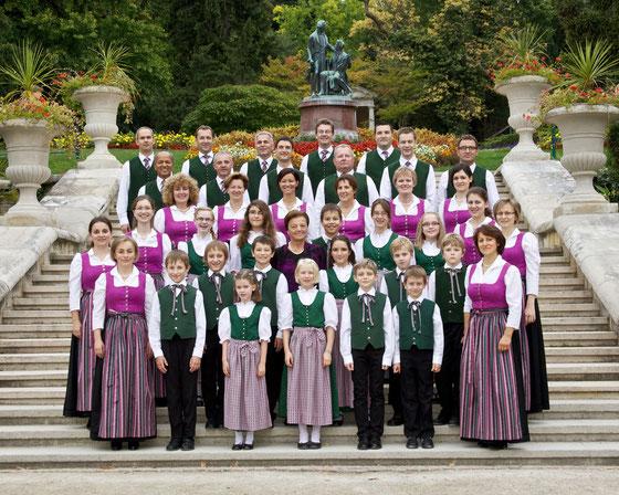 Stöttenchor im Stadtpark in Baden bei Wien im September 2012