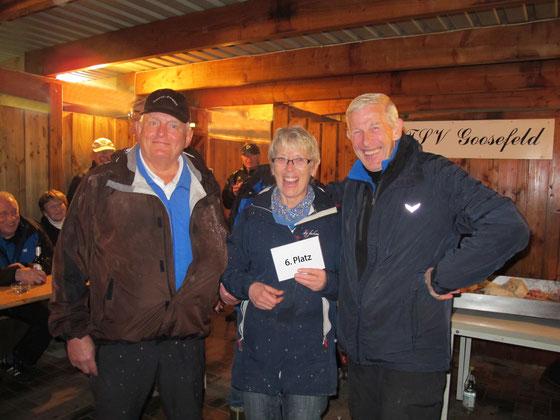 Geest-Bouler (v.l.): Manfred Habenicht, Renate Dyck und Otto Hansen