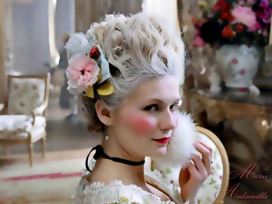 Kirsten Dunst dans Marie Antoinette de Sofia Copolla