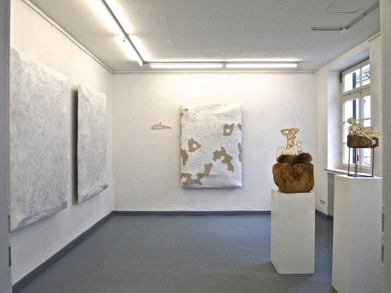 Objekte Anja-Katrin Grimm zur Ausstellung 'WIR', 2013