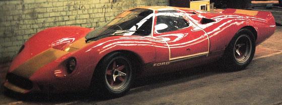 Quelle: ALLEN, J.S. Ford GT40. Osprey Publishing, London (1991), S 127. ISBN: 1 85532 123 8.