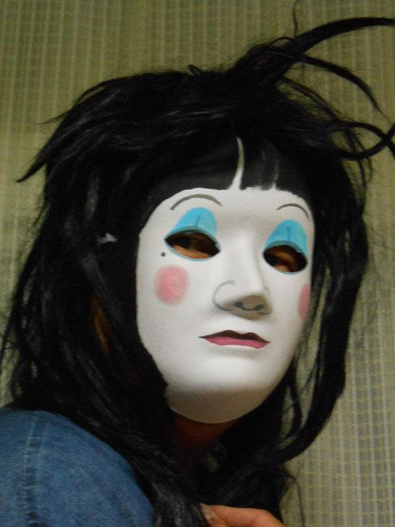 ハロウィン 小林夢狂 MukyoKobayashi 作 立花雪 YukiTachibana  あおい夢工房 炎と楽園のアート