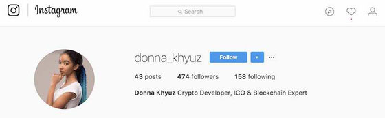 segwit2x fork truffa donna khyuz instagram