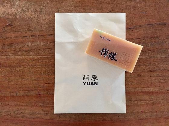 台湾の土産♪石鹸! オーガニックな香り半端ねー感じが◎! 偶然にもLEEに掲載されてたりして♪