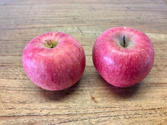 """近頃リンゴをよくいただいてるような、、、時期的なことでしょうね、。でリンゴ食べて最近思うことがあるですよね~、、今のリンゴは""""甘い""""って!昔のはそんなに甘くなかったですよね~? 種類だけの問題でもないような気がするけど。。。 てことで美味しかったです♪"""