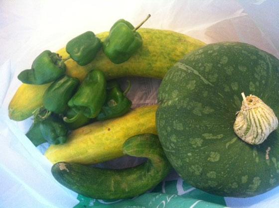 フレッシュ野菜♪ 野村さん、dさんありがとうございました♪