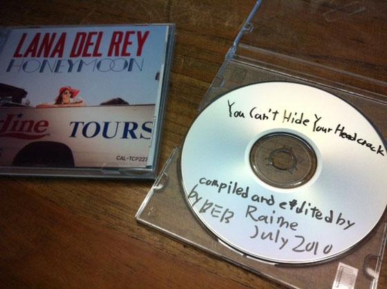 うちの音楽担当してくれてる和田くんがCDを持って来てくれた! 2枚とも超うちにあってていいわ~♪ マジ感謝!パワープレイ決定!w ありがとね~♪