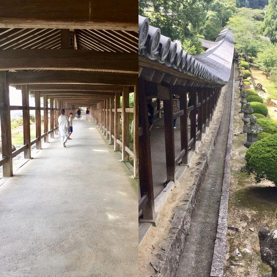 吉備津神社はこの長~~い回廊が有名なんですけどここでも一回も足止めないし!