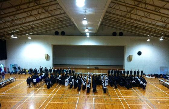 昨日は「一條少年剣道大会」があり初観戦した。
