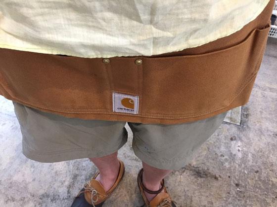 いい感じ♪ 僕的には、やり過ぎ感も無くギリすっきりしてると思うんだけど、お客様に「今日はサファリルック?」って言われちゃいました~!(汗) *仕事道具は入れてません! 外出時に財布と携帯入れるくらい パンツのポケット膨らまないから超便利www