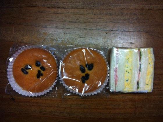 超好物の「もちもちケーキ」←実際の商品名w コレが僕らスゲ~好きで♪ 尾崎さんありがとね~