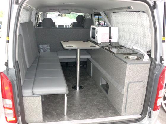 ミニバンで車中泊するなら OSPのライトキャンパー シリーズ