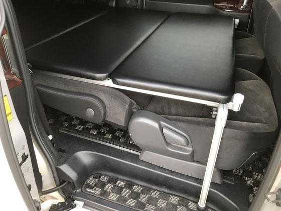 70VOXY・NOAHで車中泊をするためにベッドキットを製作しました。