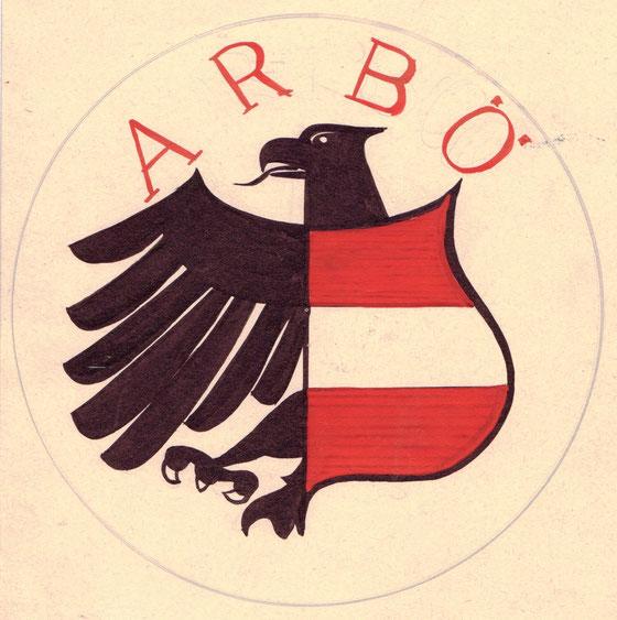 ARBÖ-Logo Entwurf Heinz Traimer 1965.