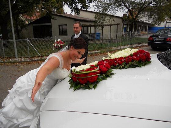 Zur Hochzeit Steffi und Patrick