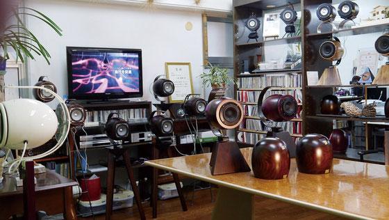ショールーム Spec system speaker HADO