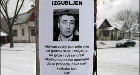 Čim je na poternici, mora da je Srbin: Zoran Milanović, zaturen