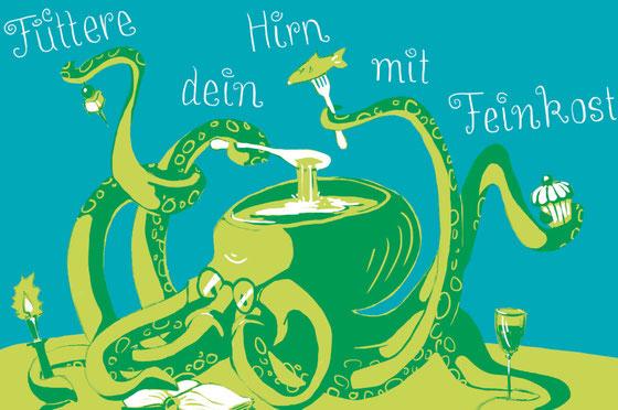 Feed your brain with delicacies © Dorothea Blankenhagen 2014