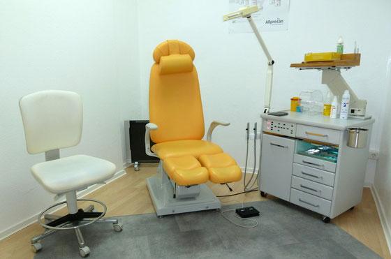 Podologie Praxis - Behandlungsraum 2
