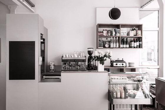 Popup Store mit Küche