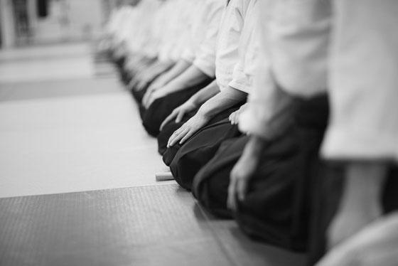 Unterricht im Shinki Dojo Weiler