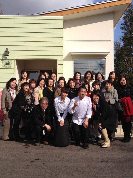 金沢商工会議所女性会の皆様とイグレックで!