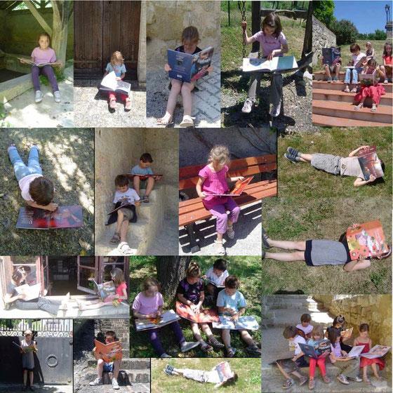 Les enfants de l'école primaire de Castelanau Barbarens