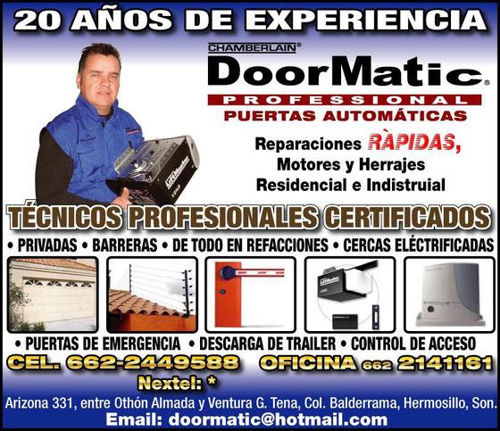 Bienvenidos gracias por visitarnos doormatic for Refaccionarias en hermosillo