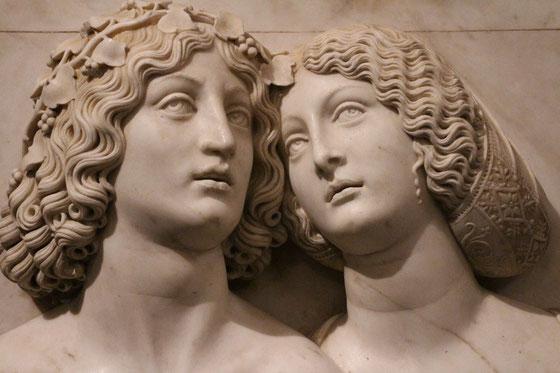 Junges Paar zu sehen in der Kunstkammer Wien