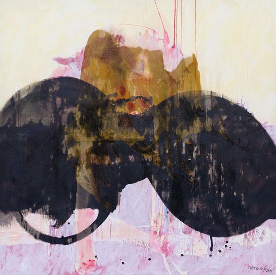 o.T., 2014 (165 x 165 cm)