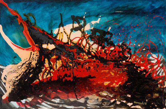 Eruption, 2015 (80 x 120 cm)