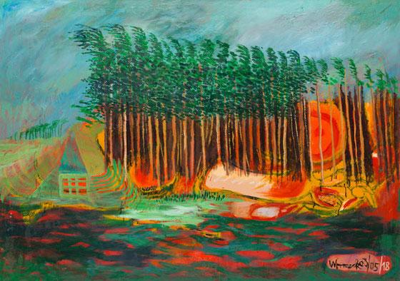 Geestwald, 2003/05/18 (110 x 155 cm)
