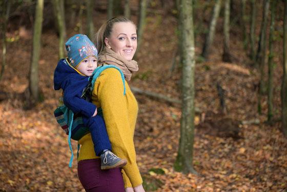 Onbuhimo - Tragen im Winter - Wie ziehe ich mein Kind in der Babytrage an?