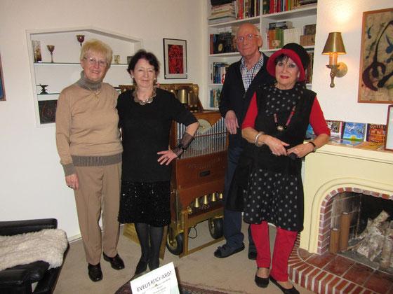 von rechts: Irene Tilgner, Florian Tilgner, Evelis Reichard, Christel Wösner-Rafael