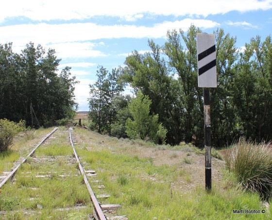 2ª Pantalla de Proximidad a la señal avanzada de Monteagudo de las Vicarías y Pozuel lado Coscurita (Fc. Valladolid-Ariza)