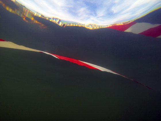 Serpent de mer #20, dim. 30cm x 40cm, 2017